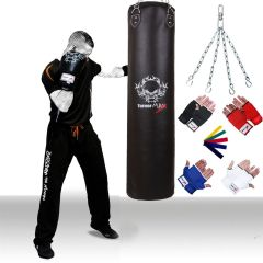 TurnerMAX Heavy Duty Boxing Punch Bag FILLED Rexion
