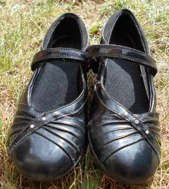 Girls Size 12 1/2 Velcro School Shoes