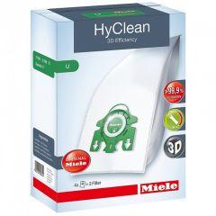 Miele HyClean 3D Efficiency U Dust Bag Pack 4 Dust Bag