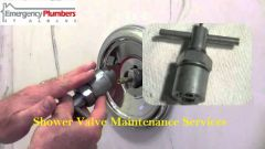Shower Valve Maintenance Service