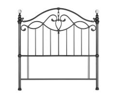 Bentley Designs Elena Black Nickel Headboard