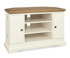 Bentley Designs Provence Two Tone Corner TV Unit