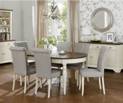 Bentley Designs 6-8 Extension Table with  Chairs