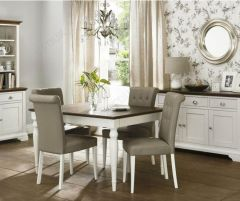 Bentley Designs 4-6 Rectangular Dining Table Chairs