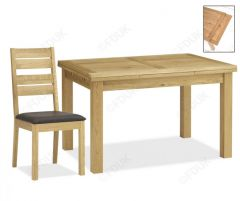 Bentley Designs 4-6 Dining Set with Slatted Chair