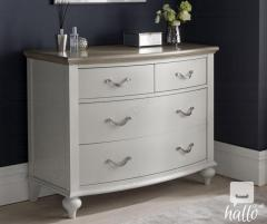 Bentley Designs Montreux Washed Oak and Drawer Chest