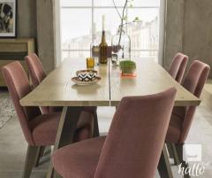 Bentley Designs Cadell 6 Seater Aged Oak Dining Table
