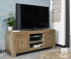 Bentley Designs Turin Light Oak Entertainment Unit