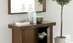 Bentley Designs Akita Walnut Solid Wood Sideboard