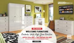 White Welcome Pembroke Bedroom Furniture Sale