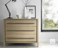 Bentley Designs Rimini Aged and Oak 3 Drawer Chest