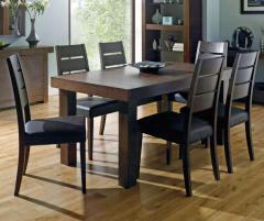 Bentley Designs Akita Walnut 4-6 End Extension Table