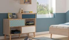 New Gami Larvik 3 Drawer Chest And 2 Compartment