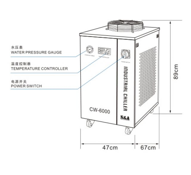 S&A water chillers for Spot Welding application 3 Image