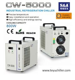 S&A compact laser chiller for visual orientation tour