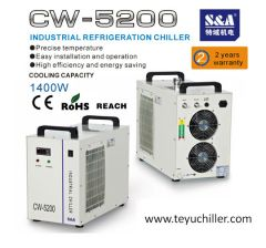 S&A chillers to cool down vacuum pumps