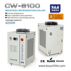 S&A water chiller for laser machines and CNC milling