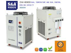 S&A airwater chiller for cooling IPG laser