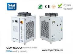 S&A Water Chiller System Cw-6200 With 5.1Kw Cool