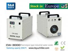 S&A Water-Cooled Chiller Cw-3000 Ac220V, 50Hz Fo