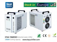 S&A CW-5200 water cooled chiller