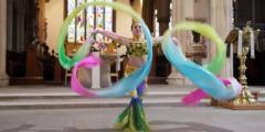 Autumn Term 2019 Chinese Ribbon Dance- Goldsmiths Confucius Institute