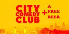 CITY COMEDY CLUB + FREE BEER