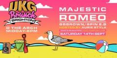 UKG Brunch Brighton - Majestic, Romeo, Aurie Styla