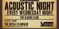 THE ICARUS CLUB - the acoustic singer/songwriter sessions