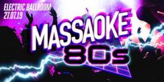 Massaoke 80s vs Guilty Pleasures