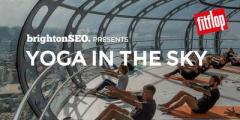 Yoga in the Sky - before-brightonSEO!