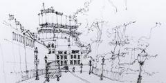 Build drawing skills: townscape sketching