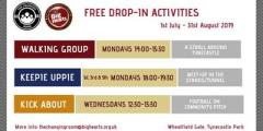 Free Summer Walking Group for adults at Tynecastle Park