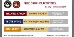 Free Summer Kick-about for adults at Tynecastle Park Community Pitch