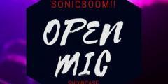 SONICBOOM- OPEN MIC NIGHT