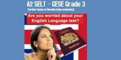 A2 SELT - GESE 3, English Language Preparation  Course - 5 Weeks