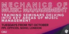 Mechanics of Music Management - All 5 Seminars