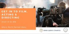 Get into film, acting and directing