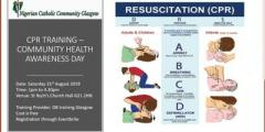 CPR TRAINING – COMMUNITY HEALTH AWARENESS DAY