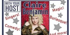 The TIME TRAVELLERS CABARET CLUB with Claire Benjamin!