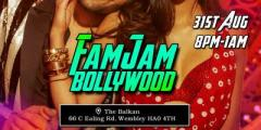 FAMJAM BOLLYWOOD FIESTA - North London - 31st August