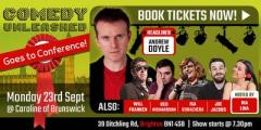 Comedy Unleashed at Labour Conference