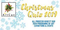 ArtCan Christmas Quiz & Fundraiser