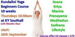 Kundalini Yoga Beginners Course