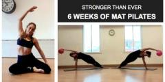 6 weeks Mat Pilates (Every Monday lunch time)
