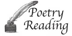 National Poetry Day - Poetry Reading