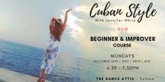 OCTOBER EDITION -  Ladies Cuban Salsa Styling - Beginners & Improvers