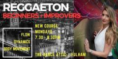OCTOBER Edition - Reggaeton- Beginners & Improvers