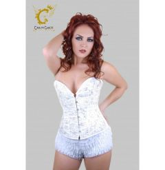 CRAZY CHICK CORSET BRONZE & BLACK 03 Nov 17