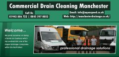 Commercial Drain Cleaning Manchester